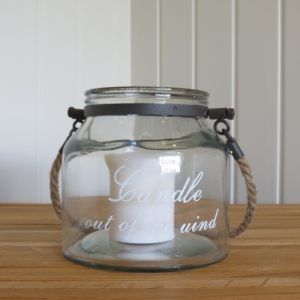 Medium Candle in the Wind Jar
