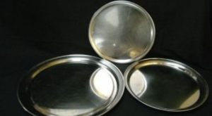 Round Stainless Steel Platters