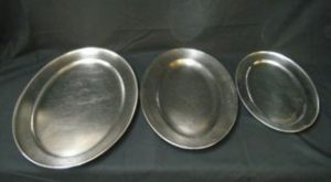 Stainless Steel Platters