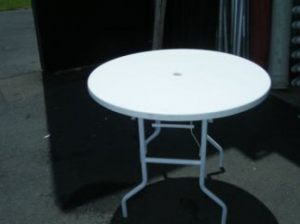Round Resin Table 900mm