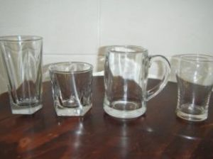 Beer & Spirit Glasses