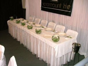 Trestle Cloths and Table Skirts