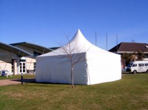 6x6 Fully Walled Springtop Marquee