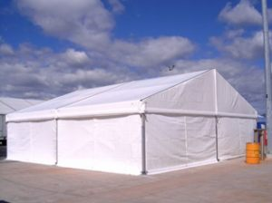 10x10 Marquee Bolted on Concrete