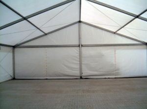10m Roder Marquee Floored