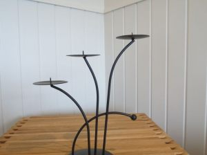 3 Prong Candle Holder