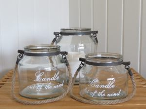 Candle in the Wind Jars