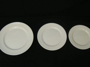 Dudson Dinner Plate. Entree & Side Plate