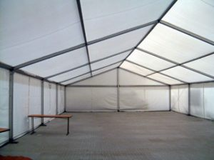 10m - Roder Marquee Floored