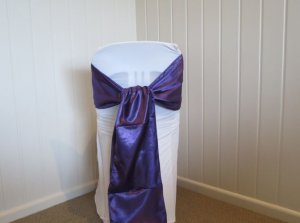 satin-sash-purple